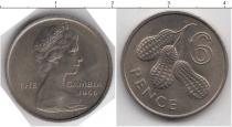 Каталог монет - монета  Гамбия 6 пенсов