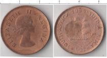 Каталог монет - монета  Южная Африка 1/2 пенни