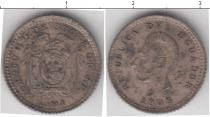 Каталог монет - монета  Эквадор 1/2 десимо
