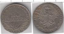 Каталог монет - монета  Тироль 20 крейцеров