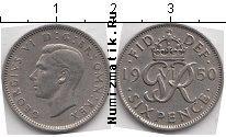 Каталог монет - монета  Великобритания 6 пенсов