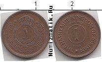 Каталог монет - монета  Иордания 1 филс