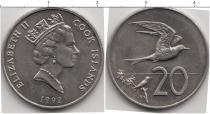Каталог монет - монета  Кокосовые острова 20 центов