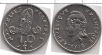Каталог монет - монета  Новые Гебриды 10 франков