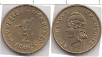 Каталог монет - монета  Новые Гебриды 2 франка