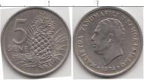 Каталог монет - монета  Самоа 5 сене