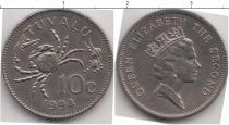 Каталог монет - монета  Тувалу 10 центов