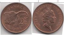Каталог монет - монета  Тувалу 2 цента