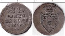 Каталог монет - монета  Шаумбург-Липпе 1/24 талера