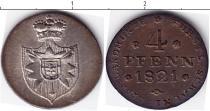 Каталог монет - монета  Шаумбург-Липпе 4 пфеннига