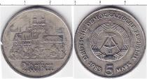 Каталог монет - монета  ГДР 5 марок