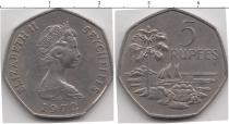 Каталог монет - монета  Сейшелы 5 рупий