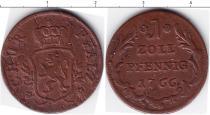 Каталог монет - монета  Пфальц-Сульбах 1 пфенниг