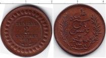 Каталог монет - монета  Тунис 2 сентима