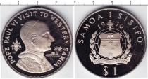 Каталог монет - монета  Самоа 1 доллар