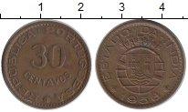 Каталог монет - монета  Португальская Индия 30 сентаво