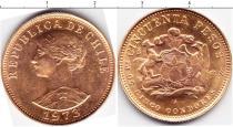 Каталог монет - монета  Чили 50 песо