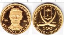 Каталог монет - монета  Эквадор 500 песет