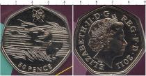 Продать Подарочные монеты Великобритания Лондон 2012-спортивная коллекция 2011 Медно-никель