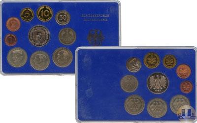 Каталог - подарочный набор  ФРГ Монеты 1997 (чеканка Мюнхен)