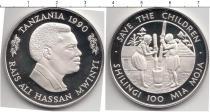 Каталог монет - монета  Танзания 100 шиллингов