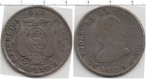 Каталог монет - монета  Эквадор 4 реала