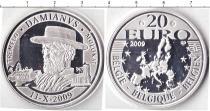 Продать Монеты Бельгия 20 евро 2009 Серебро