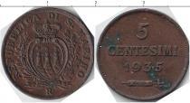 Каталог монет - монета  Сан-Марино 5 сентесим