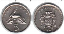 Каталог монет - монета  Ямайка 5 центов