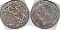 Каталог монет - монета  Самоа 10 сен