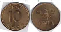 Каталог монет - монета  Южная Корея 10 вон