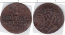 Каталог монет - монета  Шмалькальден 1 геллер