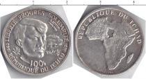 Каталог монет - монета  Чад 100 франков