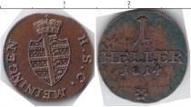 Каталог монет - монета  Саксен-Майнинген 1 геллер