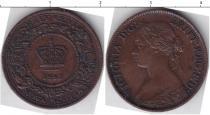 Каталог монет - монета  Новая Скотия 1/2 цента