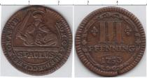 Каталог монет - монета  Мюнстер 3 пфеннига