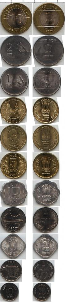Каталог - подарочный набор  Индия Индия 1989-2010