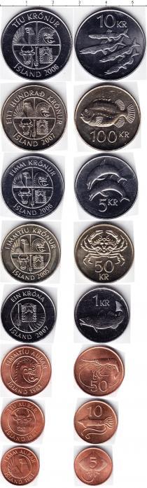 Каталог - подарочный набор  Исландия Исландия 1981-2008