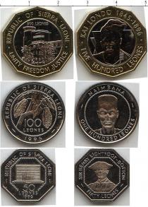 Каталог - подарочный набор  Сьерра-Леоне Сьерра-Леоне 1996-2004
