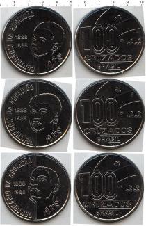 Каталог - подарочный набор  Бразилия Бразилия 1988