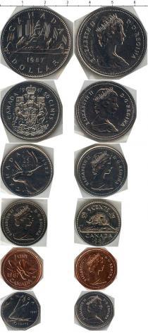 Продать Наборы монет Канада Выпуск монет 1987 года 1987