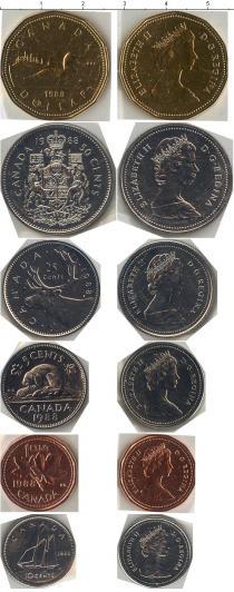 Продать Наборы монет Канада Выпуск монет 1988 года 1988