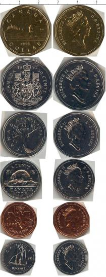 Продать Наборы монет Канада Выпуск монет 1993 года 1993