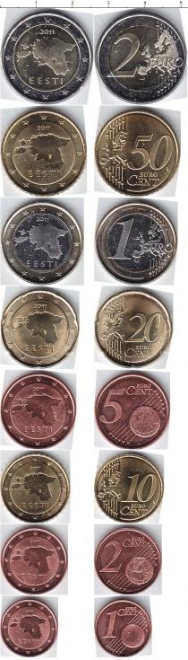 Продать Наборы монет Эстония Эстония 2011 2011