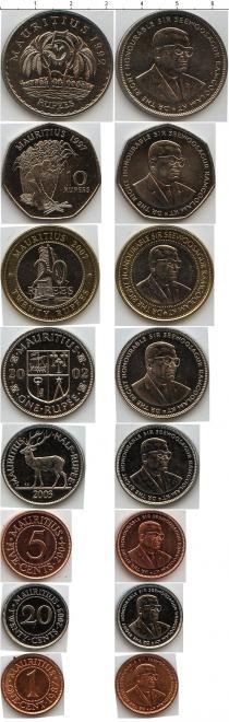 Каталог - подарочный набор  Маврикий Маврикий 1987-2007