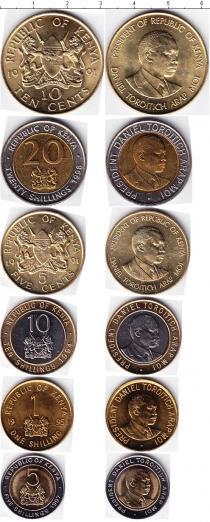 Каталог - подарочный набор  Кения Кения 1991-1998