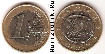 Продать Монеты Греция 1 евро 2007 Биметалл