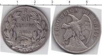 Каталог монет - монета  Чили 50 сентаво