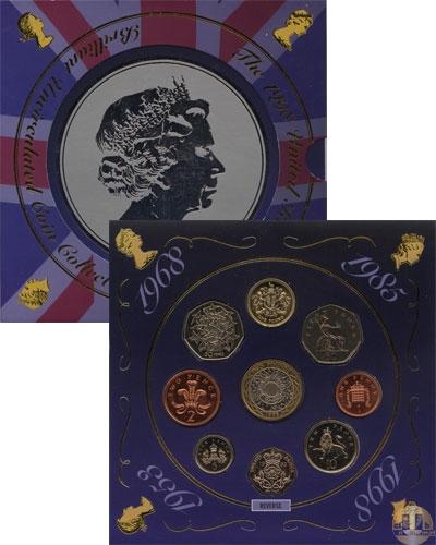 Каталог - подарочный набор  Великобритания Портрет Елизаветы - национальный символ