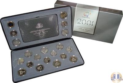 Каталог - подарочный набор  Австралия 100-летие Федерации